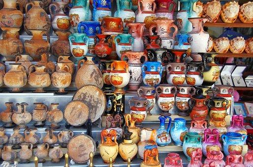 Italy, Naples, Trade, Etal, Trinkets, Memories, Market