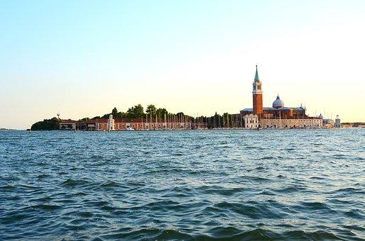San Giorgio Maggiore, Church, Venice, Italy, Vacations