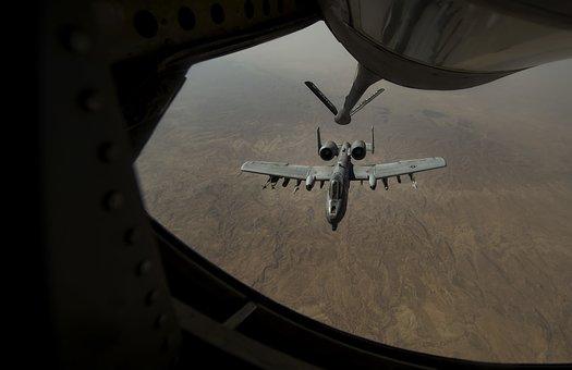 A-10, Warthog, Refueling