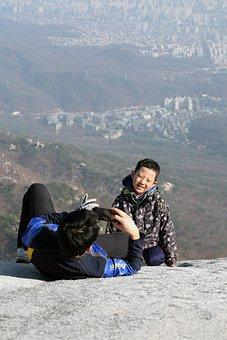 Bukhansan Mountain, White New, Seoul, Mountain