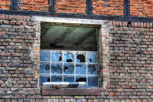 Window, Stall, Old, Facade, Old Building, Metal, Wall