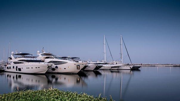 Puerto Banus, Long Exposition, Yachts, Luxury