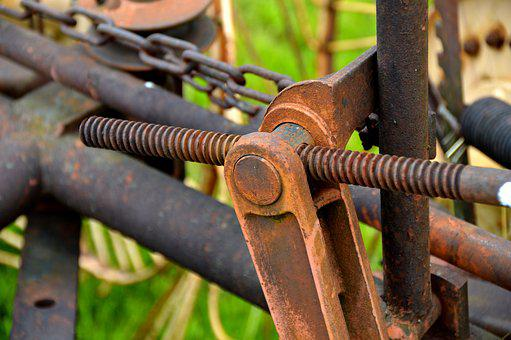 Hay Tedders, Detail, Agricultural Machine, Agriculture