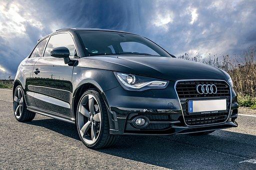 Auto, Audi, Black, Vehicles, Tuning, Sports Car