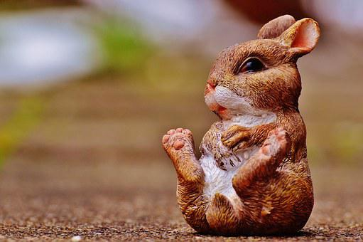 Hare, Easter Bunny, Easter, Cute, Fig, Easter Theme