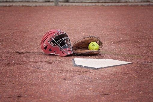 Softball, Catcher, Ball, Field, Play, Game, Sport