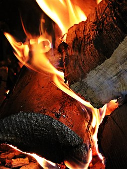 Fire, Wood, Embers, Flame, Campfire, Adventure