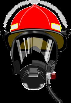 Breather, Defense, Firefighter, Fireman, Helmet