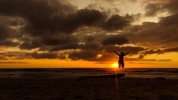 Sunrise, Campeche, Beach, Florianopolis, Clouds