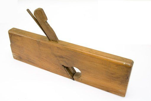Tool, Carpentry, Planer, Wood, Former, Old, Texture