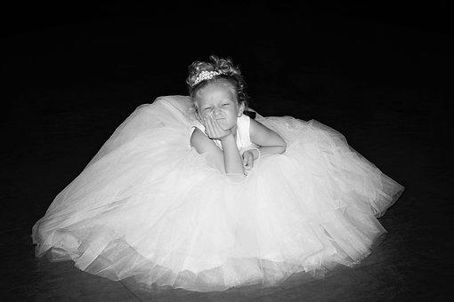Wedding, Flower Girl, Dress, Gown, Portrait, Child