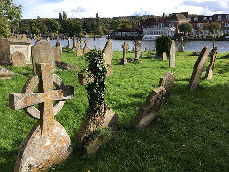 Graveyard, Grave, Burial, Cross, Cemetery, Churchyard