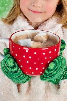 Hot Chocolate, Winter, Chocolate, Hot, Drink, Cup