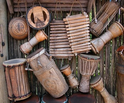 African, Instruments, Background, Music, Musical
