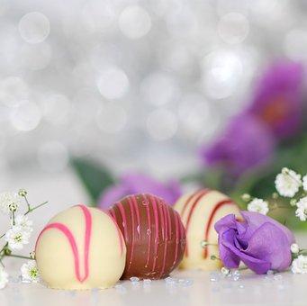 Chocolates, White Chocolate, Chocolate, Nibble
