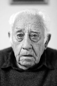 Man, Person, Face, Portrait, Elder, Old, Wrinkles
