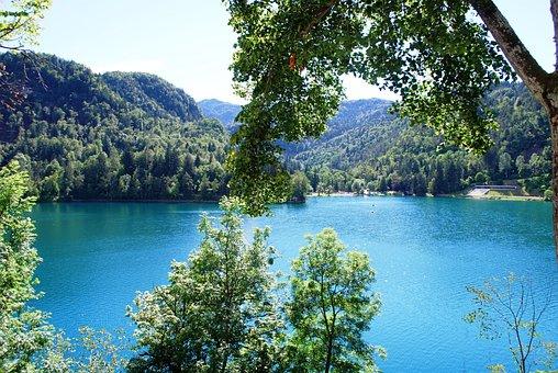 Lake Bled, Slovenia, Nature, Peaceful, Europe, Hills