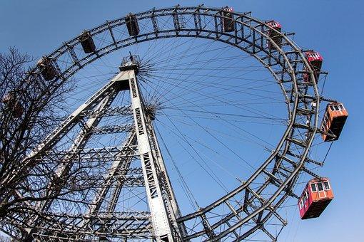 Prater, Ferris Wheel, Vienna, Fair, Ride