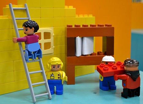 Lego, Site, Replica, Building Blocks, Construction