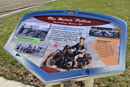 Roadside Attraction, Sign, Route 66, Illinois, Usa
