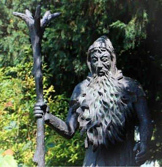 Figure, Rübezahl, Sculpture, Fairy Tales, Human, Form