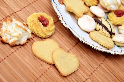 Cookies, Pastries, Sweets, Shortbreads
