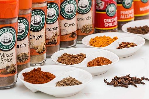 Spices, Flavorings, Seasoning, Food, Ingredient, Spicy