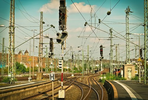 Train, Railway, Station, Travel, Rail Traffic, Seemed