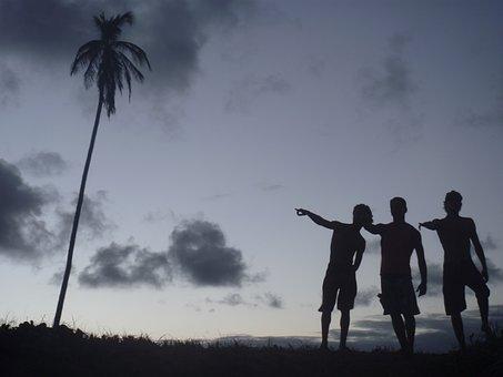 Sunset, With Friends, Friends, Sol, Florianópolis