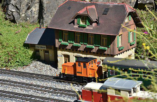 Railway, Train, Transport, Miniature, Toys, Toy Track