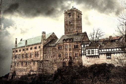 Eisenach, Wartburg Castle, Thuringia Germany, Castle