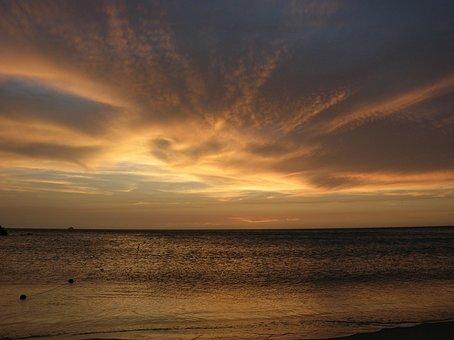 Beach, Landscape, Waves, Sand, Nature, Venezuela, Costa