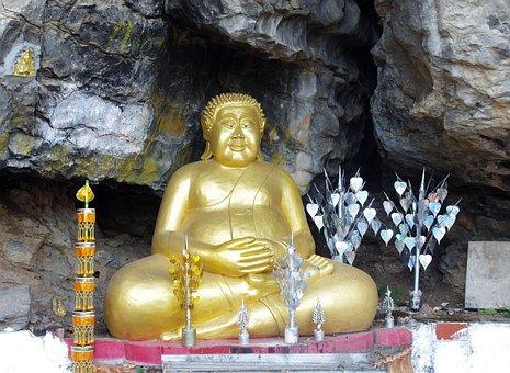 Laos, Pak - Or, Buddha, Buddhism, Cave, Sacred, Relic