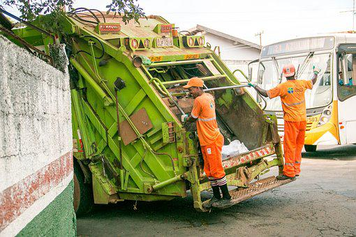 Trash, Street-sweeper, Truck Collector, Collection