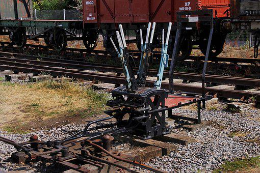 Switch Gear, Train Switching, Rail, Crossover, Gear