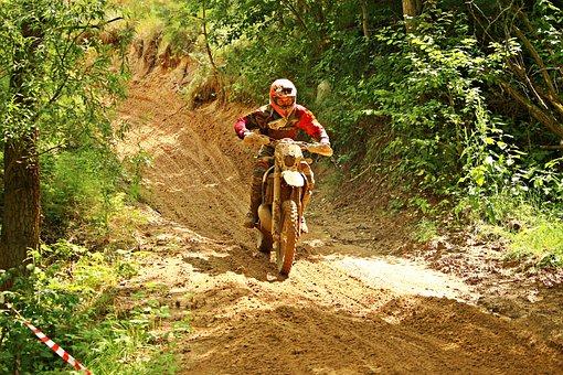 Motorcycle, Dirtbike, Enduro, Motocross, Motorsport