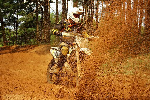 Enduro, Dirtbike, Sand, Motorsport, Motocross Ride