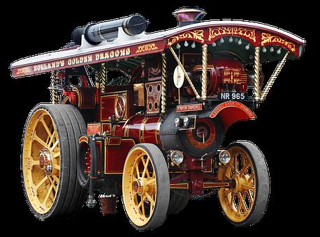 Isolated, Road Locomotive, England, English