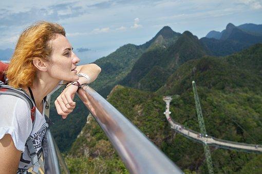 Tourist, Woman, Face, Pretty Girl, Tired, Hair
