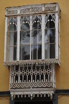 Window, Balcony, Glazed, Facade, Home, Building