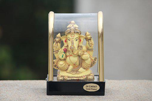 Ganesha, Lord Wisdom, Hindu God, Idol