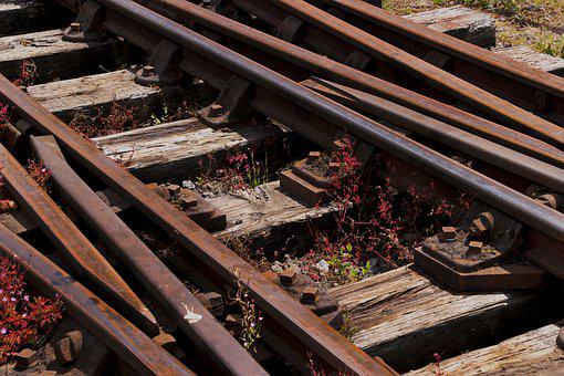 Train Tracks, Lines, Railway, Rail, Track, Railroad