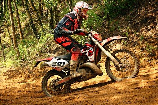 Motorcycle, Motocross, Dirtbike, Sand, Sport