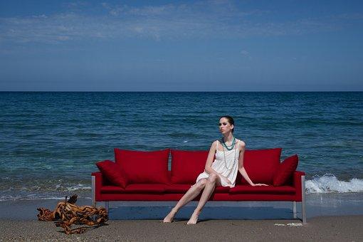 Model, Red, Women's, Exposure, Human, Fashion