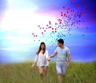 Engagement, Couple, Love, Woman, Romantic, Man, Happy