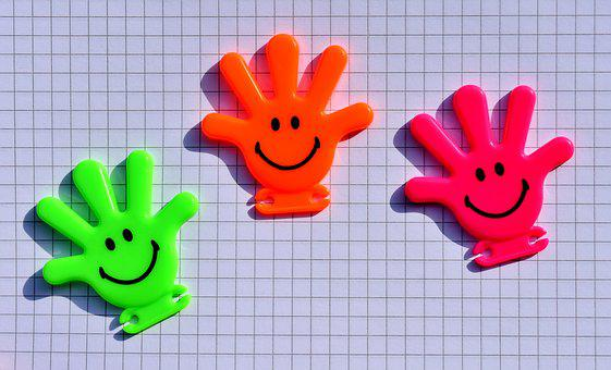 Smilies, Hands, Holding Hands, Funny, Cheerful, Smile