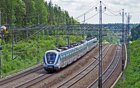 Ascent And Descent, S Bahn, Stockholm - Uppsala