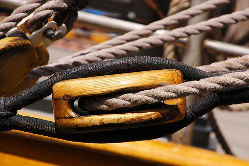 Pulley, Block, Equipment, Rigging, Sailboat, Vessel