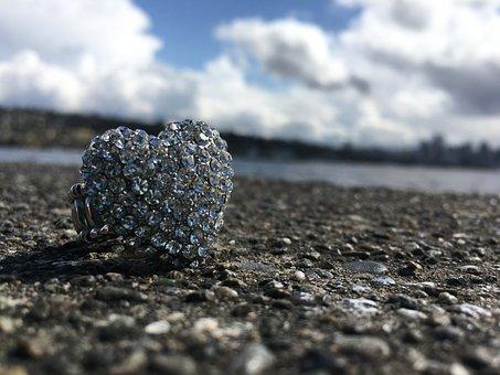 Ring, Rhinestones, Watrt, Jewellery, Silver, Gem