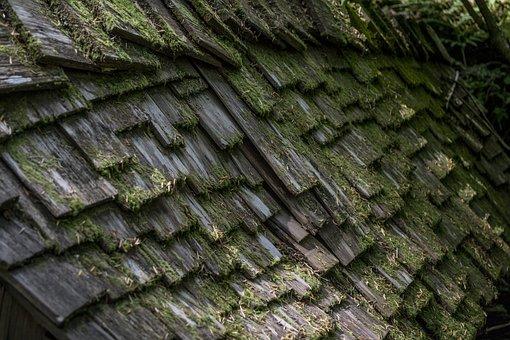 Wood, Shingle, Layer, Layered, Worn, Weathered, Old